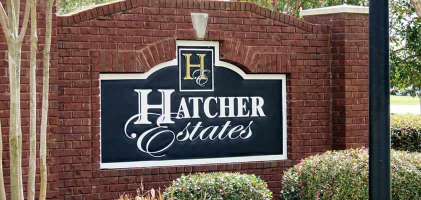 Hatcher Estates Subdivision of Warner Robins GA 31088