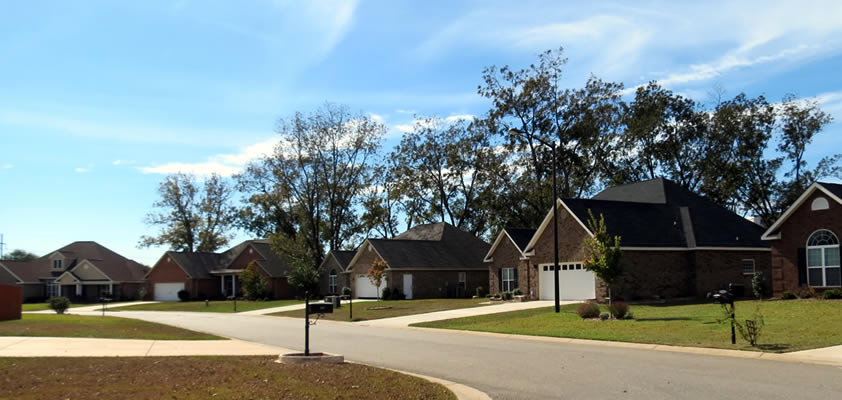 Kensington Subdivision of Warner Robins GA 31088